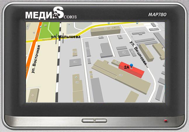 Медиа Союз - схема проезда в офис