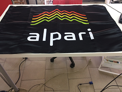 "Флаг ""Альпари"" 1000х700 мм, сотен"