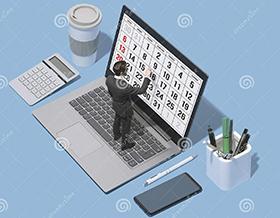 Календарь – важный атрибут тайм менеджмента