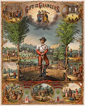 Политическая и предвыборная пропаганда в США XIX век