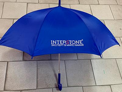 Зонт, надпечатка, флекс